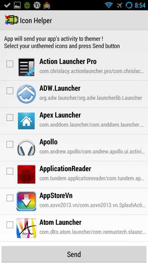 Icon Helper - screenshot