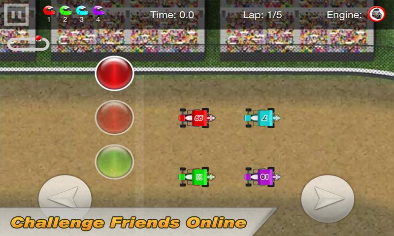Sprint Car Dirt Racing Game - screenshot