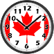 Canada Flag Analog Clock