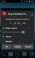 Screenshot of Ring Scheduler