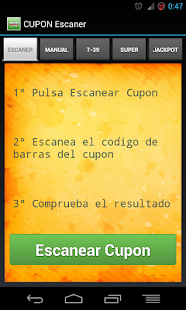 CUPON Escaner Sorteos de ONCE - screenshot thumbnail