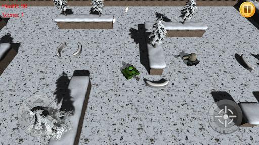 雪山坦克战役