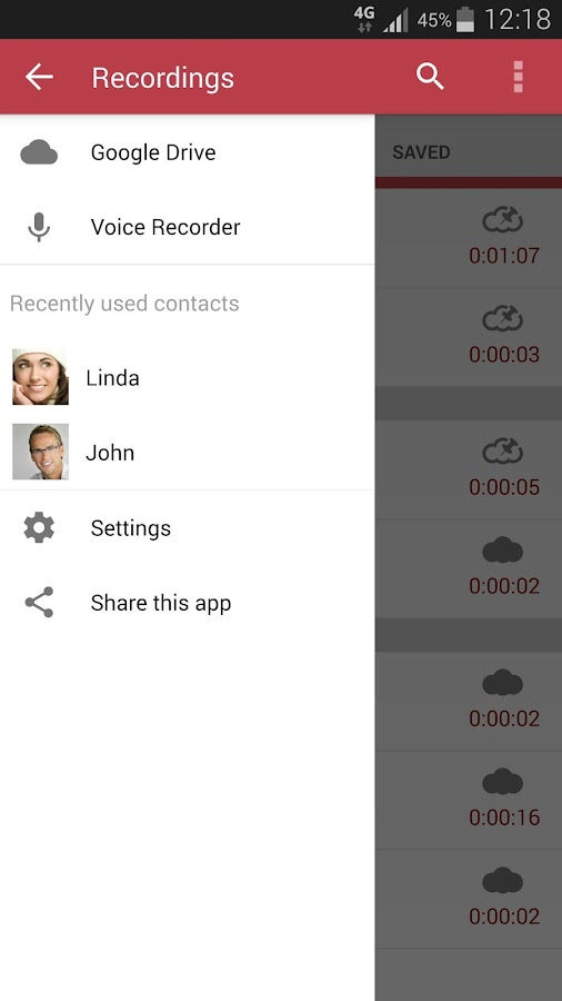 Automatic Call Recorder Pro - screenshot