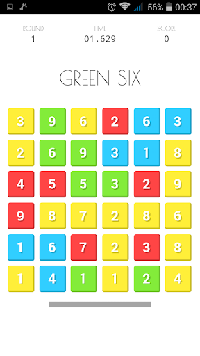 NumCol Free Numbers Colours
