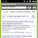 Google Plus Search logo