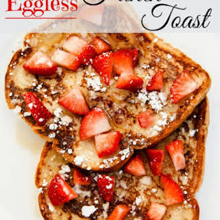 Eggless French Toast.