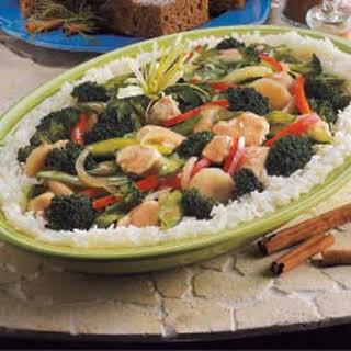 Broccoli Chicken Stir-Fry.