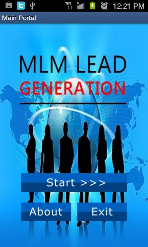 Generate Leads 4 Xango Biz - screenshot