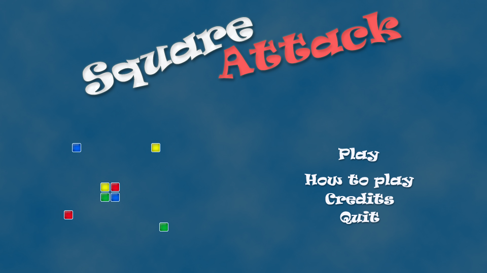 Square Attack - screenshot