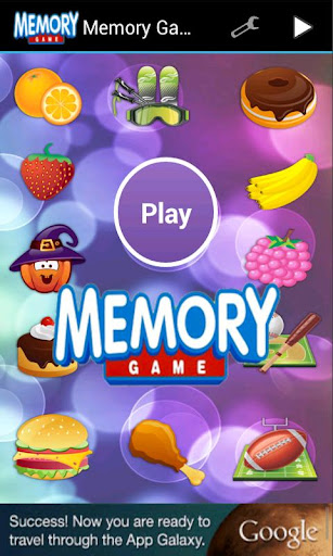 Memory Game Time