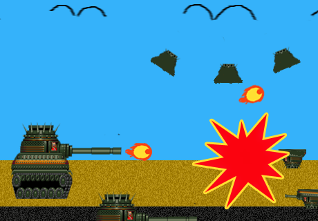 Aliens Tank Invaders apk screenshot