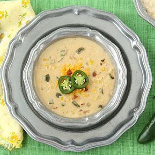 Jalapeño Popper Corn Chowder.