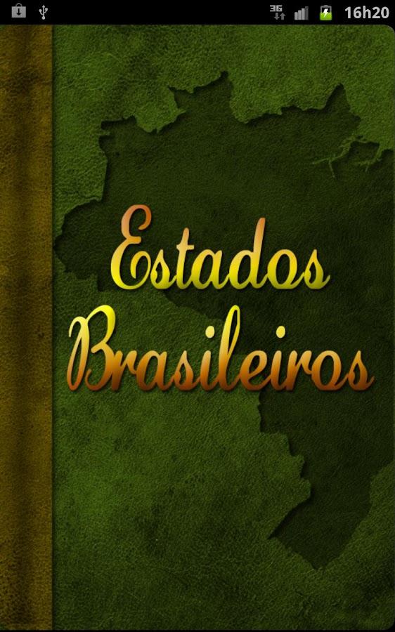 Estados Brasileiros- screenshot