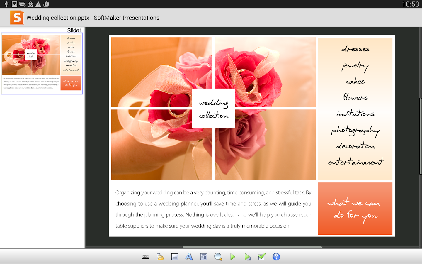FREE Office: Presentations - screenshot