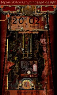 Steampunk GO Locker Theme - screenshot thumbnail