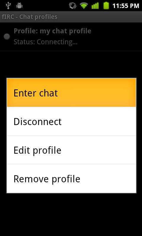 fIRC chat- screenshot