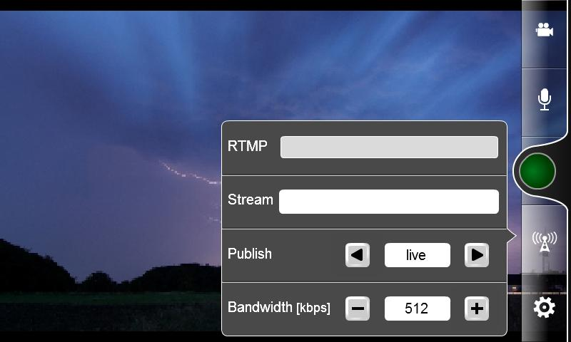 OS Broadcaster - screenshot