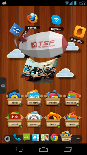 tsf launcher 3d shell apk download