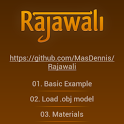 Rajawali 3D Engine Examples icon