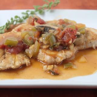 Turkey Cutlets Creole