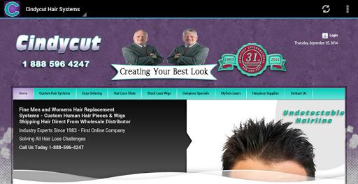 玩商業App Cindycut Hair Systems免費 APP試玩