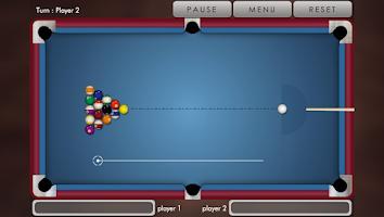 Screenshot of Pool billiard !