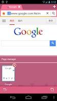 Screenshot of Pink Bird Boat Browser Theme