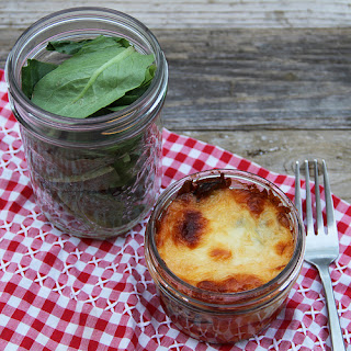 Little Lasagnas with Portobello Mushroom.