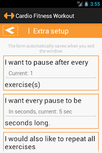 Cardio Fitness Workout - screenshot thumbnail