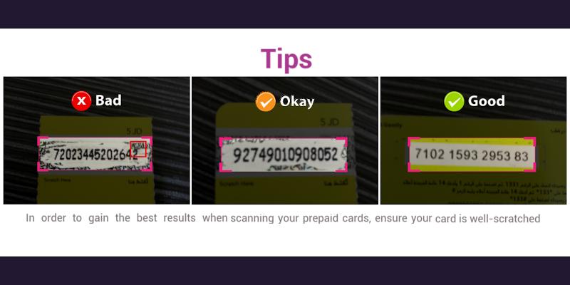 Easy Prepaid Number Scanner - screenshot