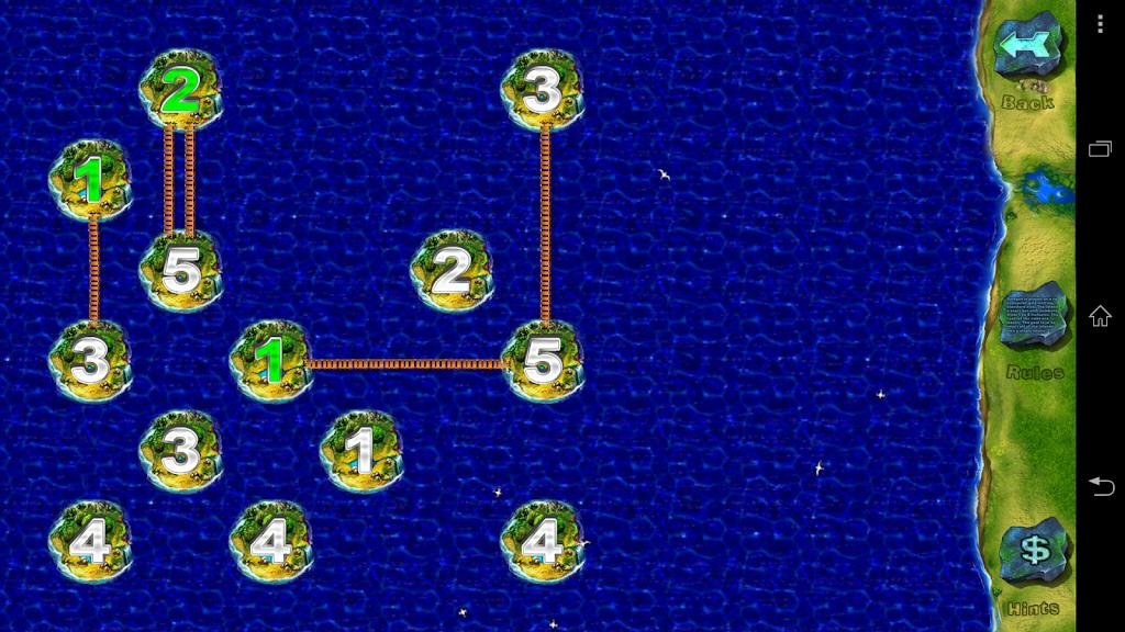 Bridges , (free offline classic puzzle, no ads) - Game by AK Games