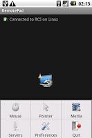 Screenshot of RemotePad