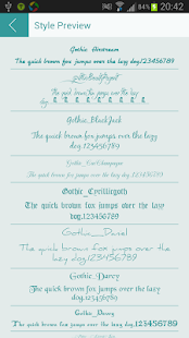 Gothic Font for Flipfont Free