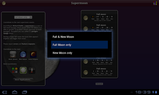 Supermoon Free- screenshot thumbnail
