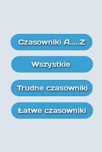 Czasowniki nieregularne- screenshot thumbnail