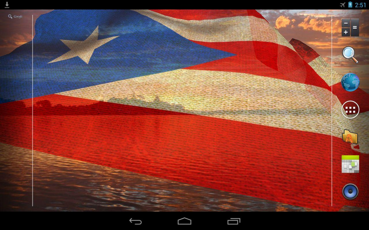 3d puerto rico flag android apps on google play 3d puerto rico flag screenshot biocorpaavc Image collections
