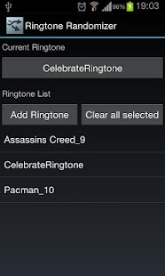 Ringtone Randomizer - screenshot thumbnail