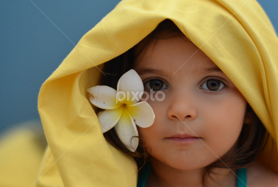 blue and yellow by Julian Markov - Babies & Children Child Portraits