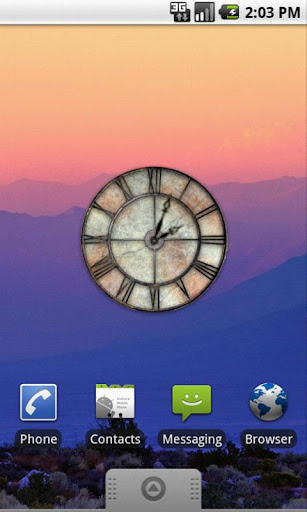Forge Old Clock Widget