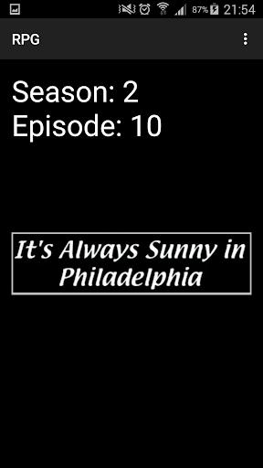 Philly Episode Picker