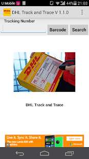 DHL Track &Trace(Not Official) - screenshot thumbnail