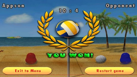 Blobby Volleyball - screenshot thumbnail