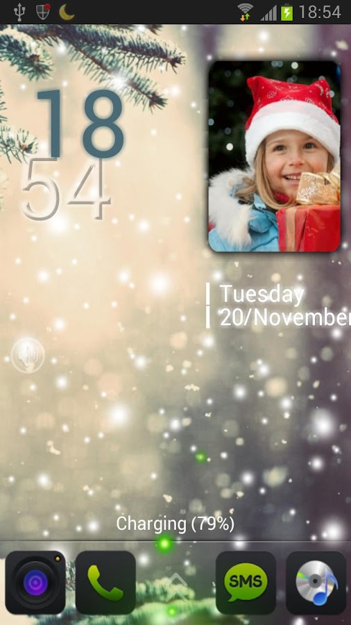 MiniAlbum MagicLocker Theme - screenshot