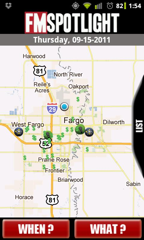 FM Spotlight Fargo Moorhead - screenshot