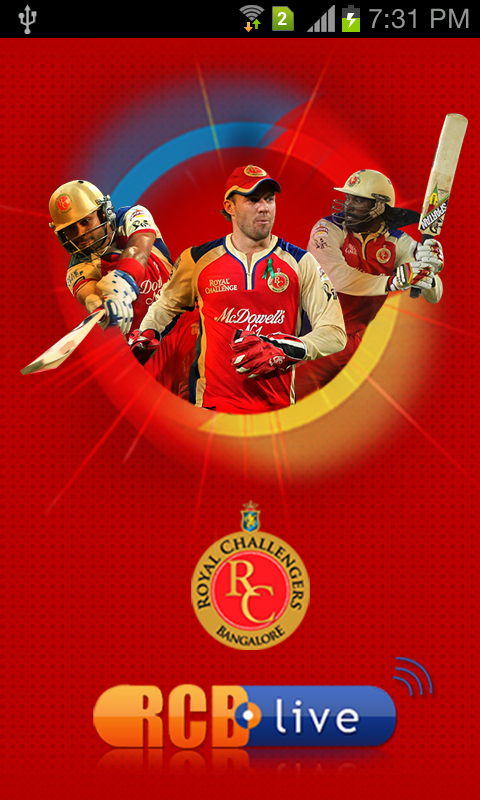 Official RCB App - screenshot