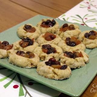 Mince Thumbprint Cookies