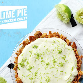 No Bake Key Lime Pie with Ritz Crust!