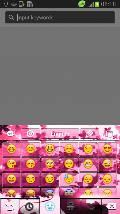 Diva Keyboard - screenshot
