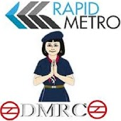 Rapid Metro Gurgaon + DMRC