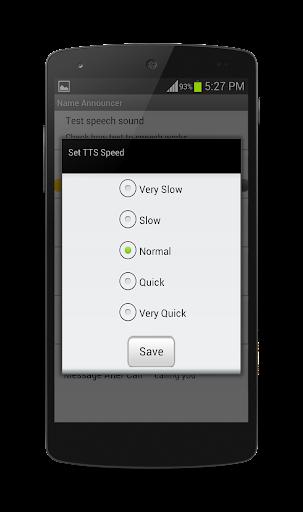 玩個人化App 呼叫和消息播音员免費 APP試玩